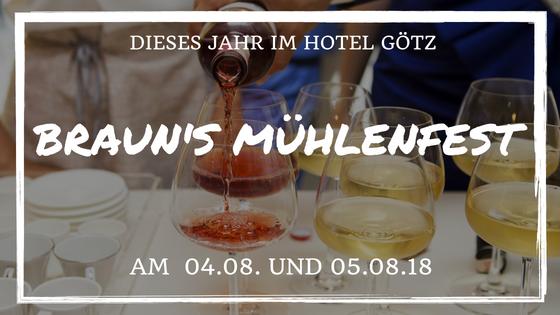 Braun's Mühlenfest dieses Mal in Werzbach